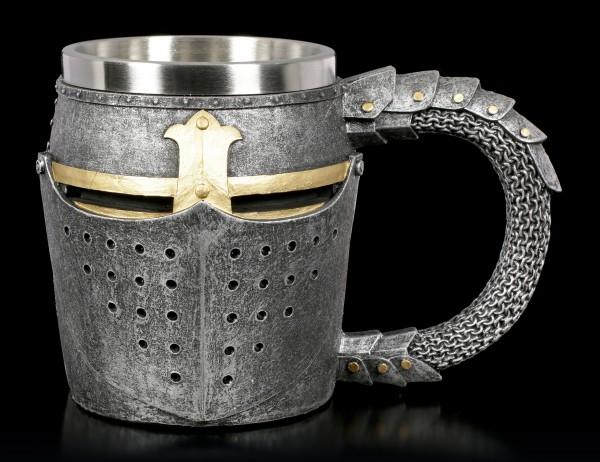 Medieval Tankard - Knight Helmet