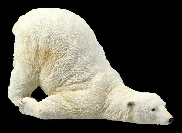 Garden Figurine - Polar Bear slides