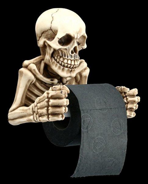 Toilettenpapierhalter - Skelett