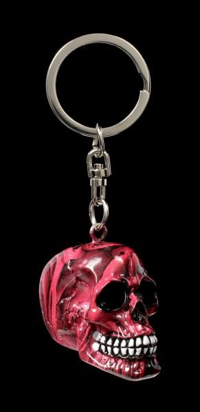 Totenkopf Schlüsselanhänger - Romance