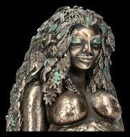 Millennial Gaia Figurine - Mother Earth bronzed