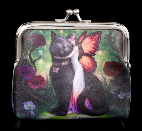 Coin Purse - Cat and Fairy