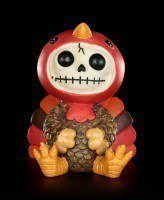 Furry Bones Figurine - Pumkin
