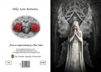 Greeting Card Gothic Angel - Only Love Remains