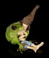 Pixie Kobold Figur - Frosch Kuscheln