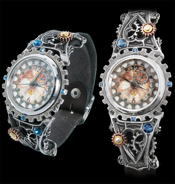 Alchemy Steampunk Wrist Watch