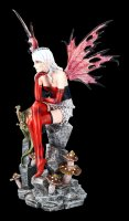 Large Fairy Figurine - Roxana with Dragon