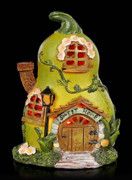 Fairy House with LED - Sweet Pear