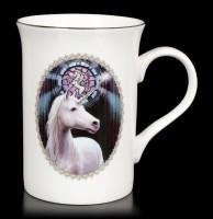 Tasse mit Einhorn - Enlightenment by Anne Stokes