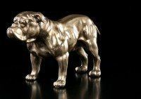 Bulldogge Figur - bronziert