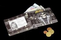 Herren Geldbörse Skelett Cowboy - Gunslinger