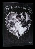 Kleine Leinwand Gothic - Perfume de la Mort