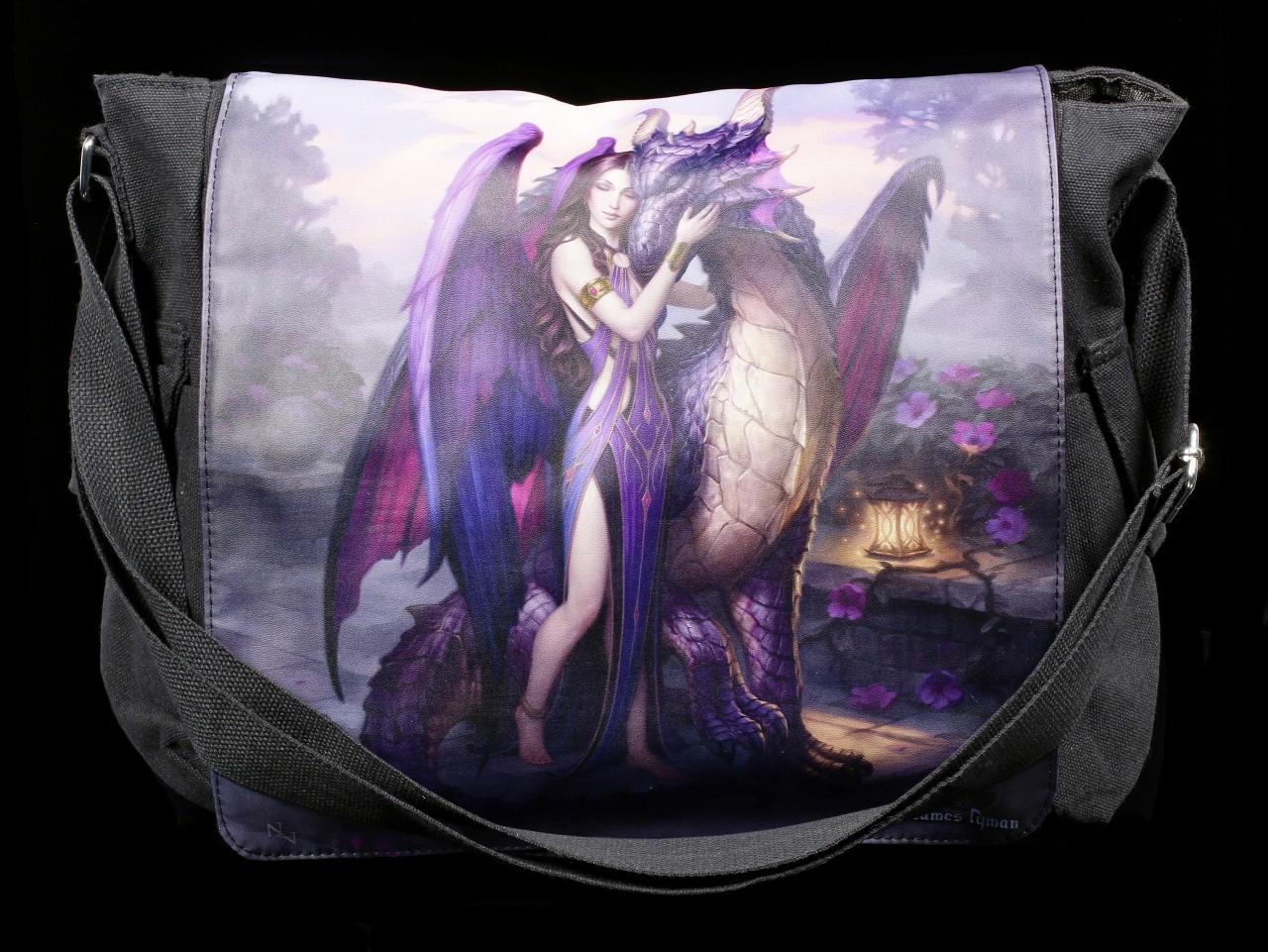 Umhängetasche mit Drache - Dragon Sanctuary
