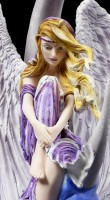 Angel Figurine - Moon Dreamer by Nene Thomas