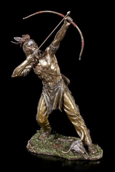 Indianer Figur mit Bogen - Native Hunter