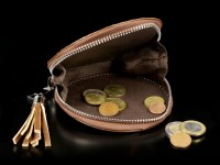3D Coin Purse with Wolf - Protector
