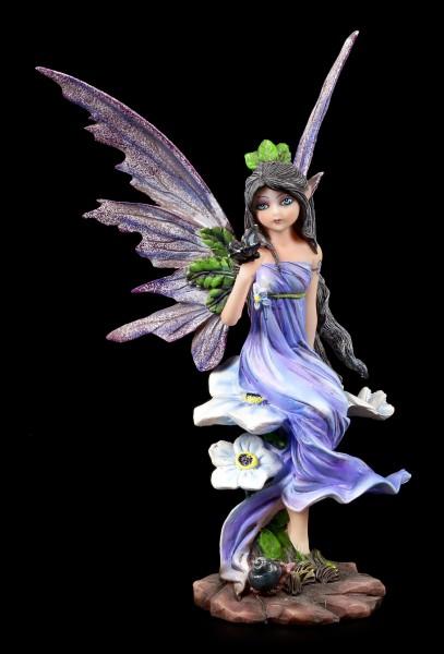 Frühlings Elfen Figur mit Schmetterling