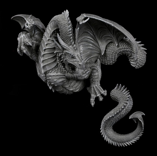 Dragon Wall Ornament - 2 Parts
