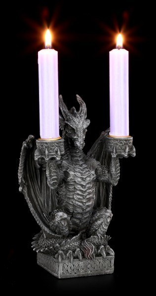 Dragon as Candlestick