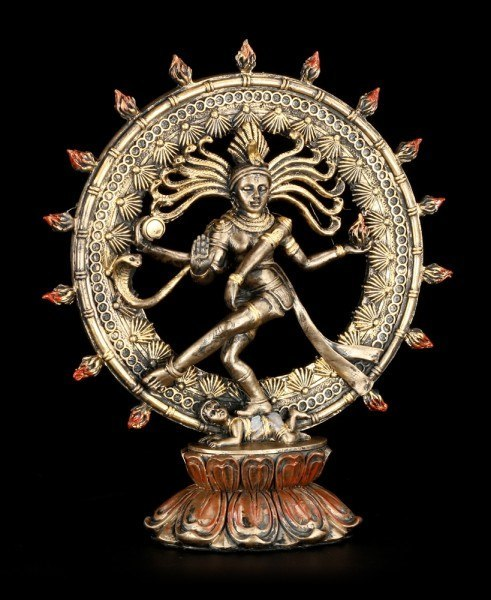 Shiva Figurine as Nataraja - in the Circle of Flames
