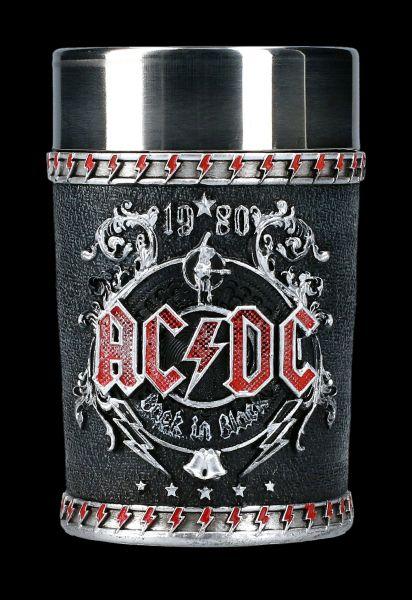 AC/DC Schnapsbecher - Back in Black