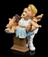 Funny Job Figur - Chiropraktiker renkt Patienten ein