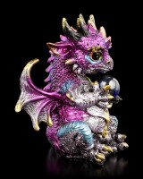 Drachen Figur - Noriss mit Kugel