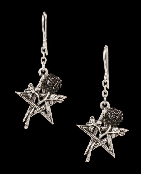 Alchemy Gothic Earrings - Ruah Vered