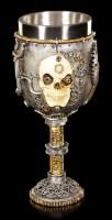 Steampunk Skull Goblet - Let Off Some Steam