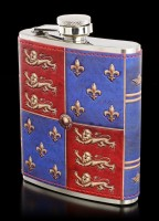 Hip Flask with Crest - Medieval