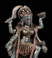 Kali Figurine dancing on Shiva