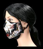 Face Mask Skeleton - Demons Teeth