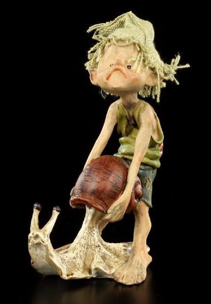 Pixie Kobold Figur - Nicht so schnell - einzeln