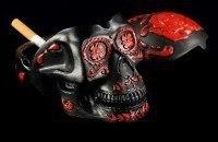 Black Skull Ashtray - Day Of The Dead