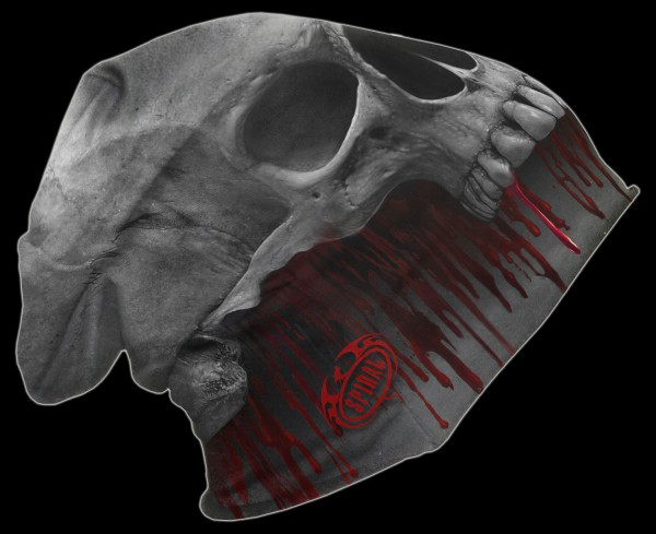 Death Roar - Spiral Skull Beanie