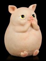 Three Wise Piggie Figurines - No Evil