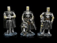 Black Crusader Figurines - Set of 6