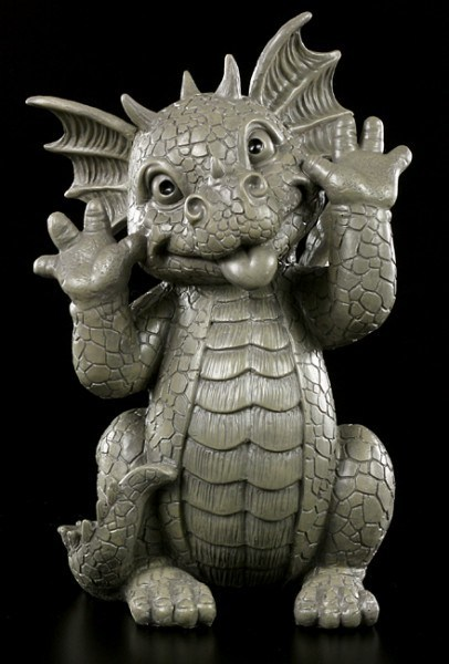 Garden Figurine - Dragon Snoot