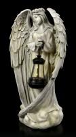 Angel Garden Figurine with Solar Lantern