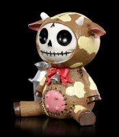 Furry Bones Figur - Brown Moo-Moo