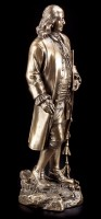 Benjamin Franklin Figur - stehend