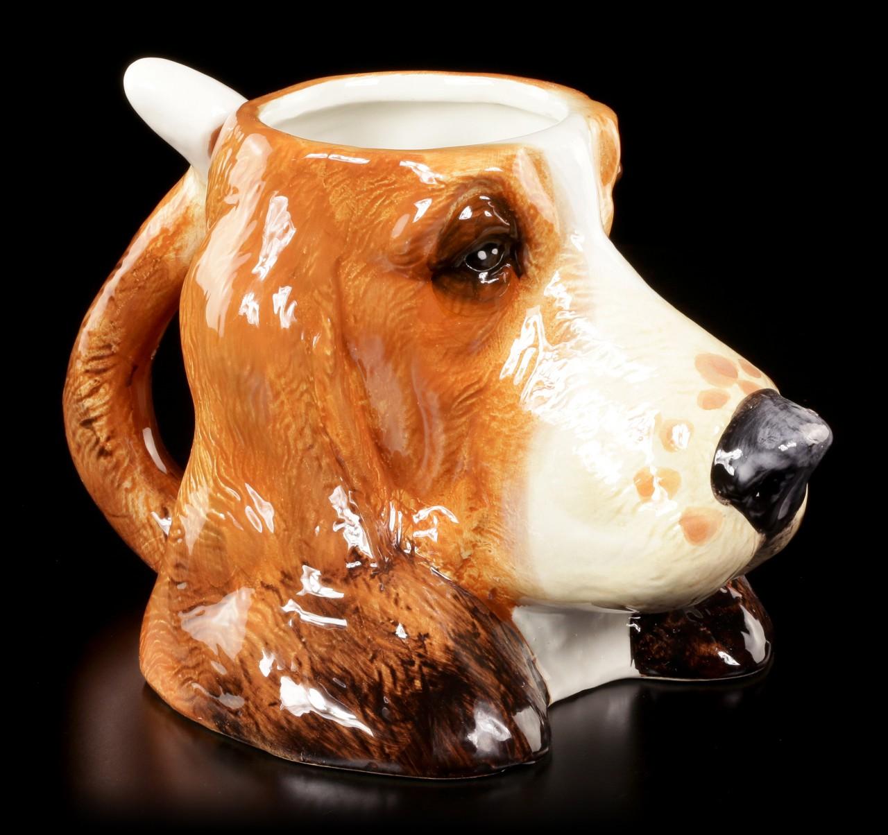 Keramik Tasse - Basset Hound