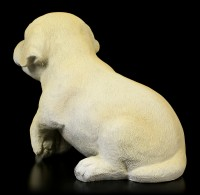 Gartenfigur - Labrador Welpe sitzend