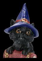 Kleine Hexenkatzen Figur - Hocus