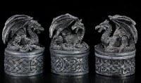 Small Dragon Boxes - Set of 3