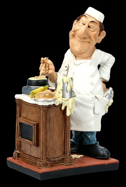 Funny Job Figurine - Crêpes Seller