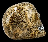 Colourfull Skull with Leopard Print - Wild