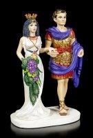 Cleopatra Figurine with Marcus Antonius