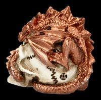 Alchemy Dragon on Skull - small