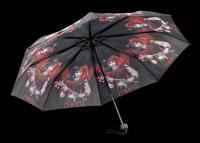 Umbrella with Harlequin - Dark Jester